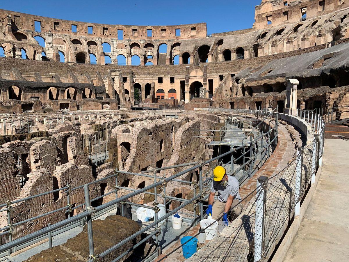 El Coliseo romano volverá a tener arena: la reconstrucción comenzará en 2021