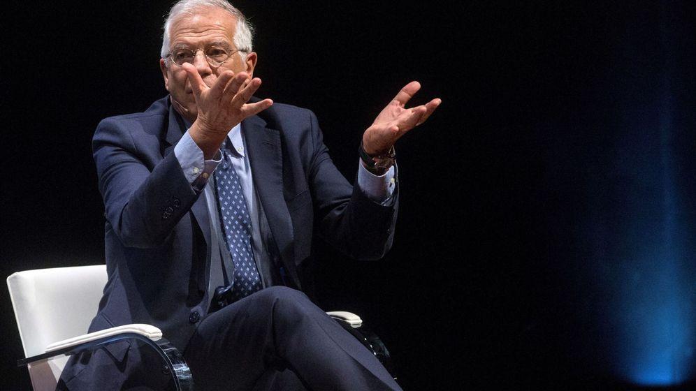 Foto: El ministro de Asuntos Exteriores, Josep Borrell, participa en un debate titulado 'El futuro de Europa'. (EFE)