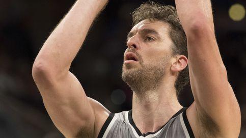 Pau Gasol, con 24 puntos, tira de los Spurs para acabar con los Kings