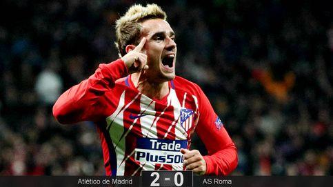 Griezmann abandona el lado oscuro y el Atlético se agarra a la Champions League