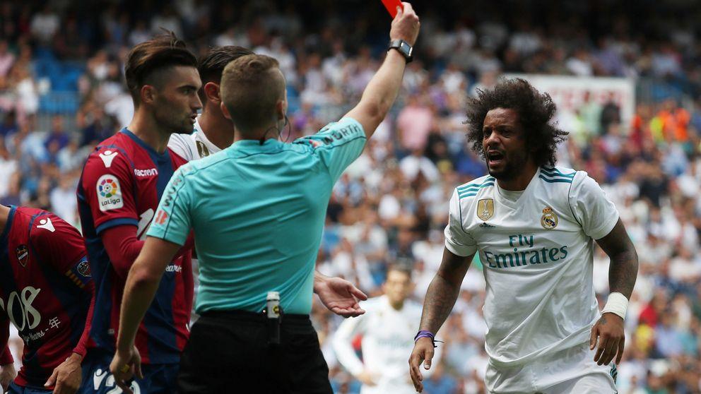 Cinco años más con Marcelo, pero no lo podrá celebrar en Liga al ser sancionado