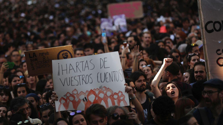 Foto: Protestas en toda España por la puesta en libertad de La Manada