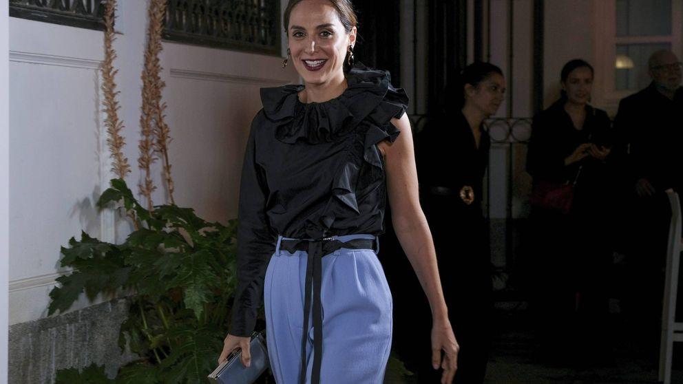 Tamara Falcó tiene los skinny jeans de tiro alto que más estilizan