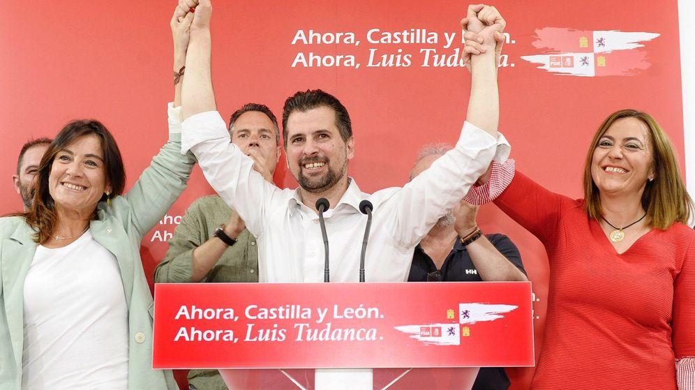 Foto:  El candidato socialista a la presidencia de la Junta de Castilla y León, Luis Tudanca. (EFE)