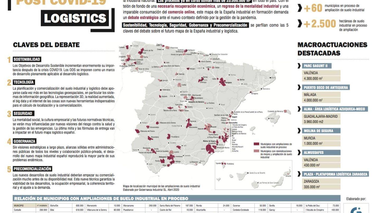 Pinche para ver el mapa de suelo industrial elaborado por Gobernanza Industrial.