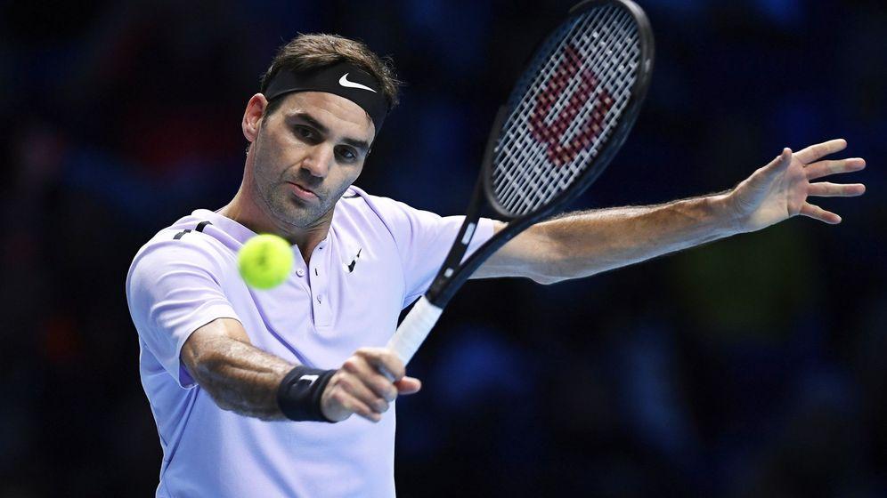 Foto: Roger Federer en Londres. (EFE)