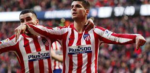 Post de La pelea en el Atlético de Madrid en la que está solo Álvaro Morata