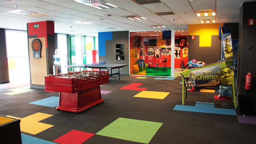 Foto: La 'playroom' oficina de Softonic