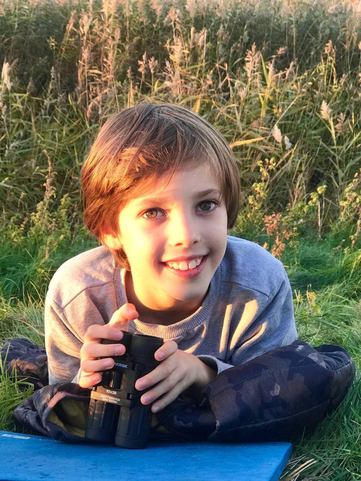 El príncipe Henrik, en su 10º cumpleaños. (Casa Real de Dinamarca)