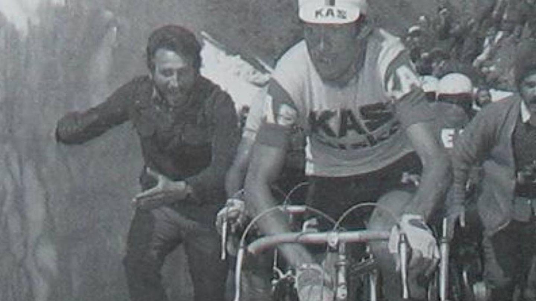 Francisco Galdós en el Stelvio