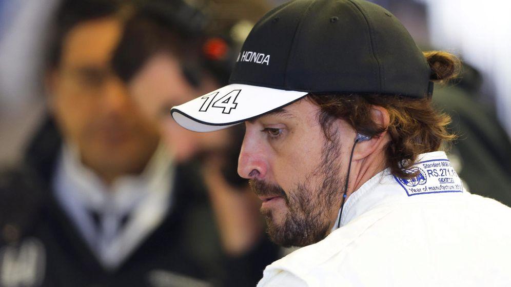 Foto: Fernando Alonso en Canadá (Efe)