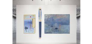 Post de S.T. Dupont rinde homenaje a Monet con una edición limitada