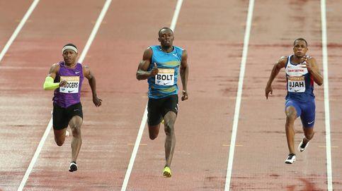 Usain Bolt regresa con una marca de 9,87 en la Diamond League de Londres