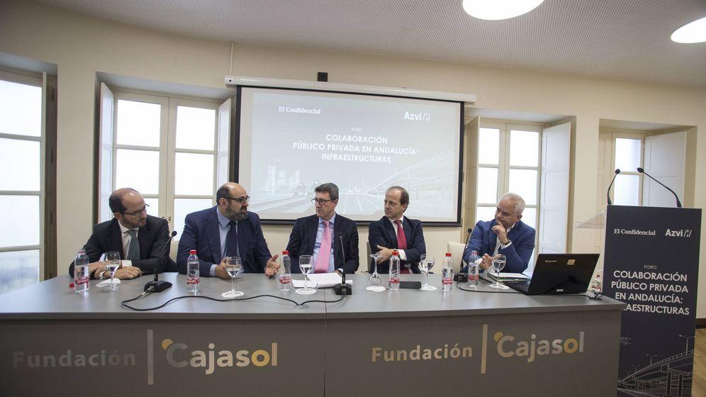 Foto: Alfonso Budiño, Juan Miguel Custodio, Manuel Beldarrain, Fernando Bernad, José Antonio Castillejo Gómez y Alberto Altero. (Fernando Ruso)