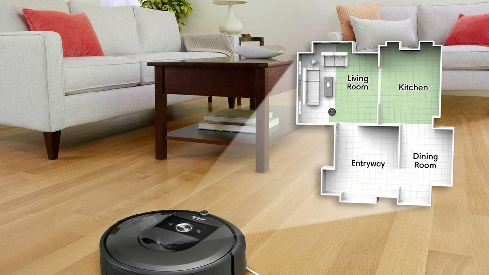 Foto: La nueva Roomba es capaz diferenciar habitaciones. (EC)