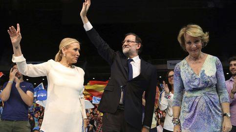 Rajoy presenta la lista del PP por Madrid en un acto al que asisten Aguirre y Cifuentes