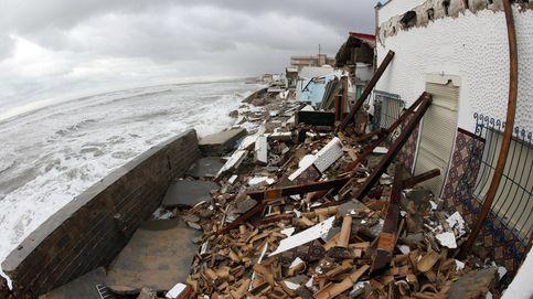 El temporal en alicante destroza el litoral