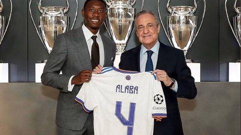 David Alaba hereda el '4' de Sergio Ramos: El club me dijo que era el único que quedaba