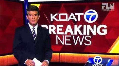Un presentador pierde los papeles en directo