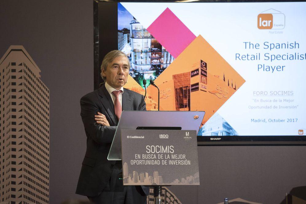 Foto: Miguel Pereda, consejero delegado de la socimi Lar España.