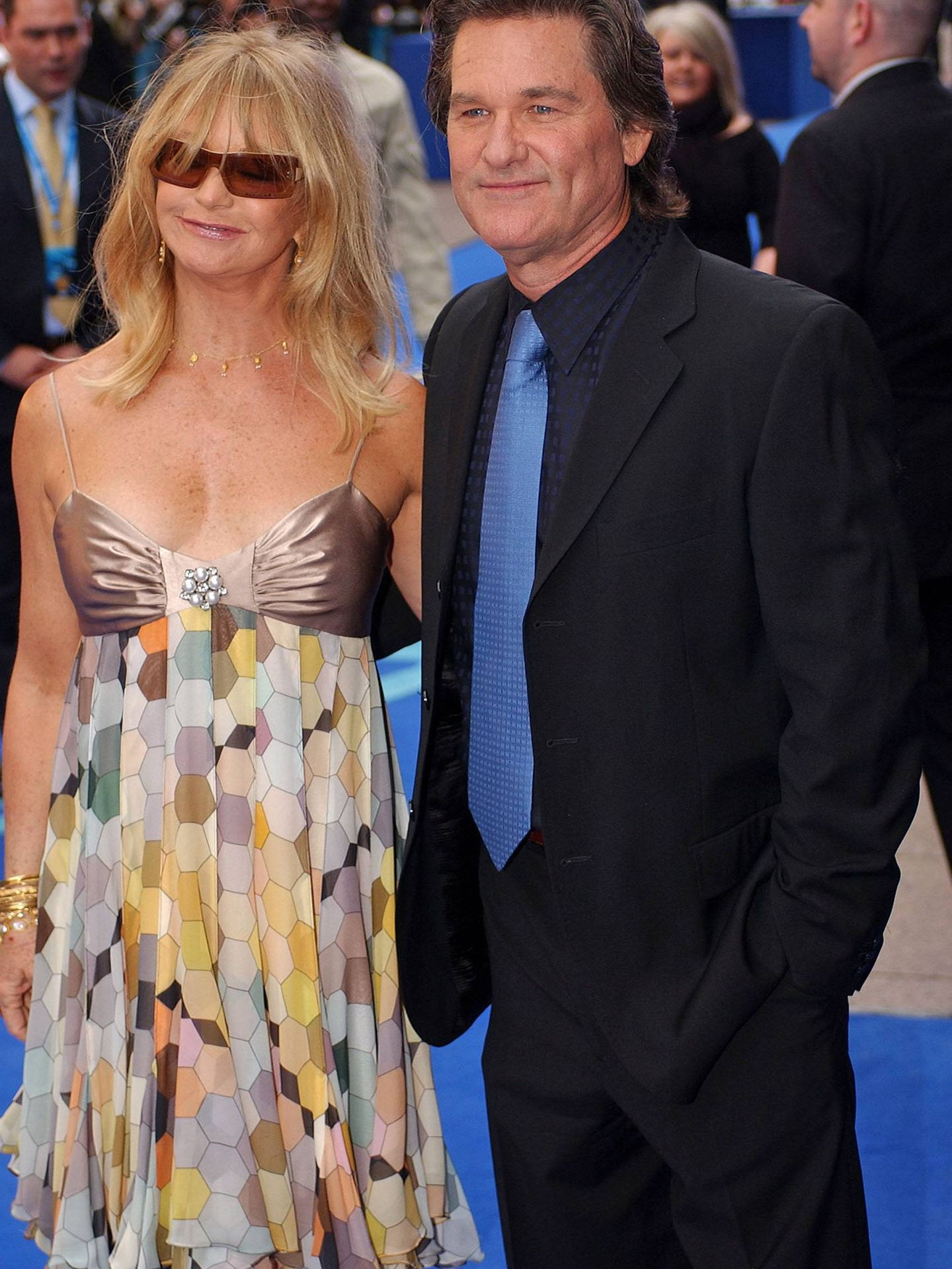 Goldie Hawn y Kurt Russell. (CP)