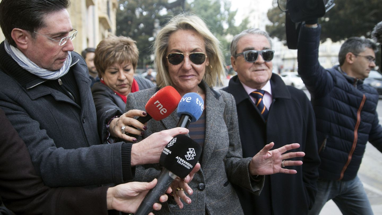La exsecretaria del grupo popular en Valencia María Carmen García Fuster está en el centro de la trama.