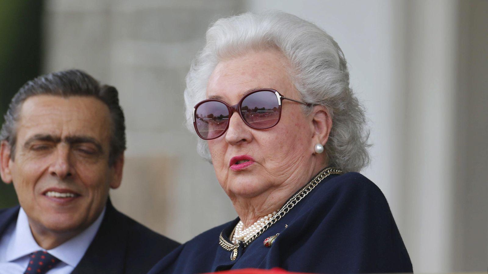 Foto: Infanta Pilar de Borbón