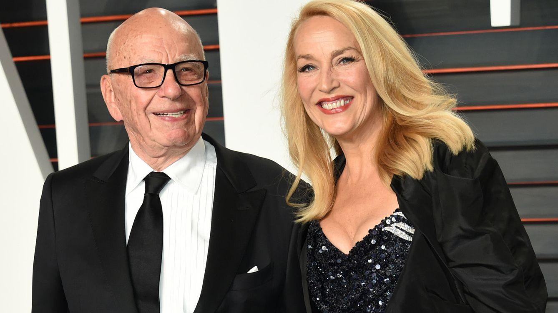 Foto: Rupert Murdoch y Jerry Hall en una imagen de archivo (Gtres)