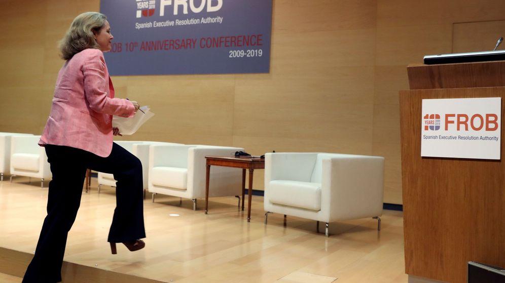 Foto: La ministra de Economía en funciones, Nadia Calviño