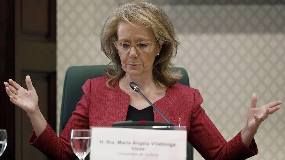 Foto: La 'consellera' de Cultura de la Generalitat catalana, Mariàngela Vilallonga. (EFE)