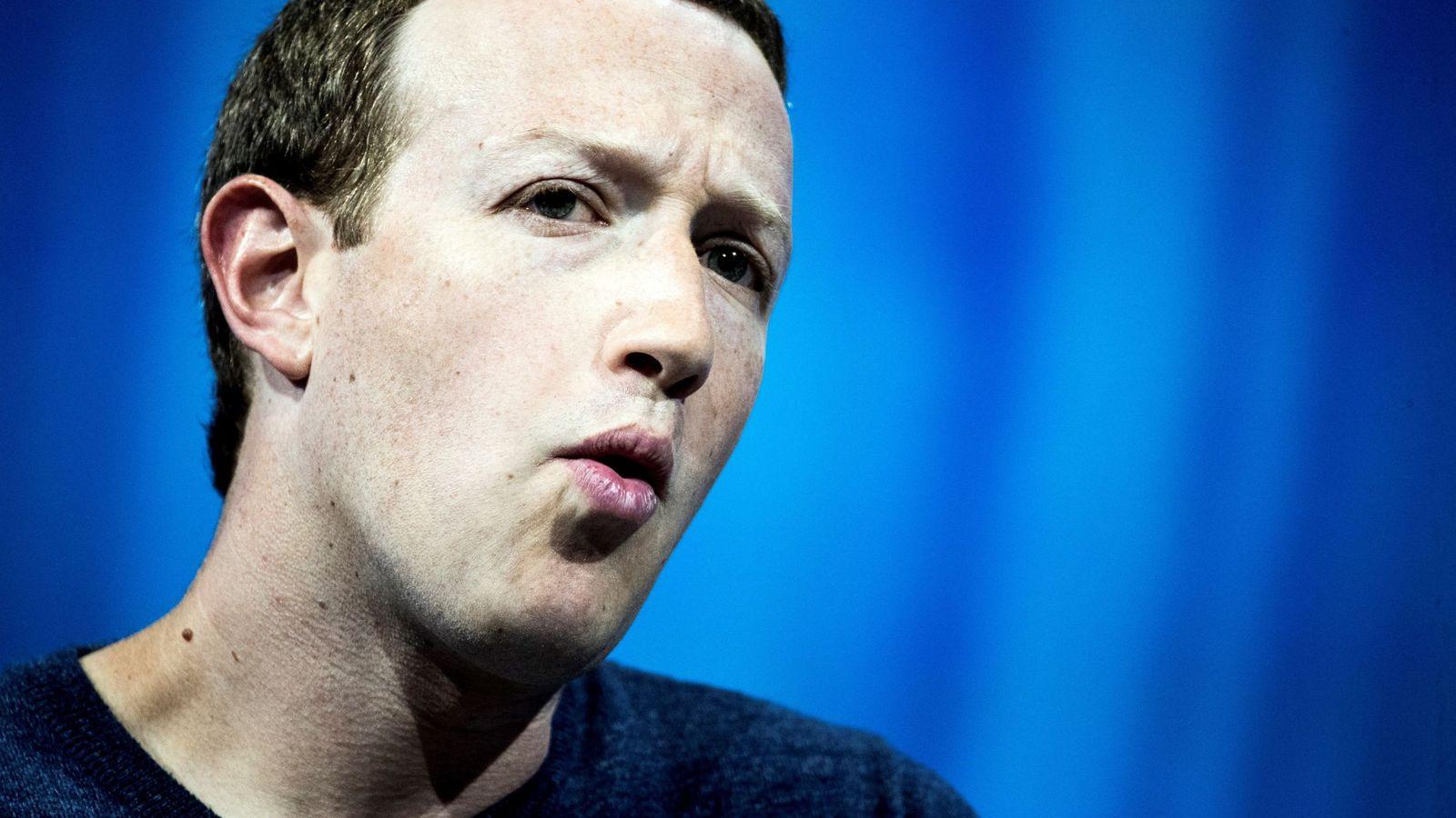 Foto: Mark Zuckerberg en la Convención Vivatech 2018 en París   EFE