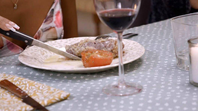 Uno de los platos elaborados en 'Ven a cenar conmigo'. (Mediaset)