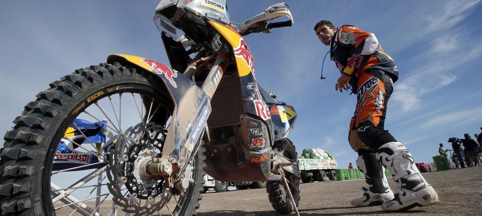 Foto: Marc Coma durante una etapa del Dakar (Reuters).