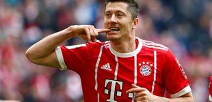 Post de Florentino busca heredero de Benzema: Icardi, Lewandowski, Salah, Hazard...