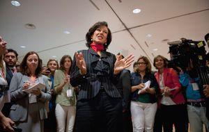 Ana Botín se estrena hoy como primera dama del 'lobby' del Ibex