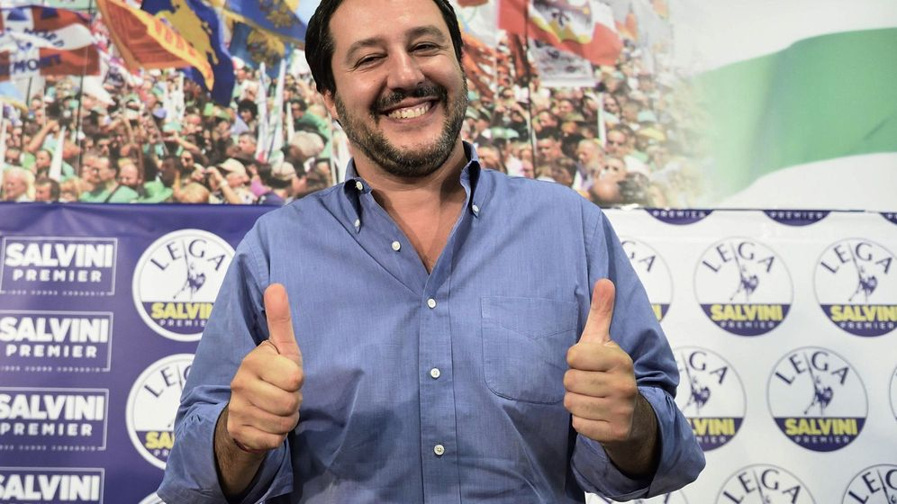 Foto: Salvini dice que el Aquarius con 629 inmigrantes ya se dirige a España. (EFE)