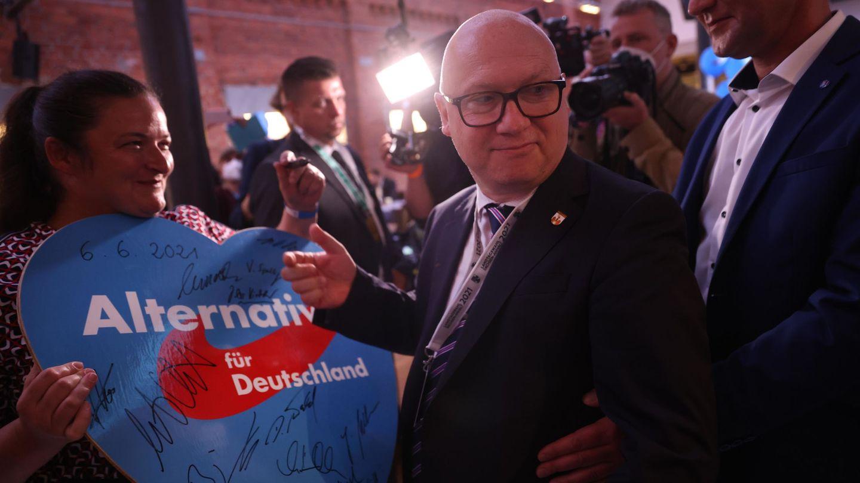 El candidato regional de la AfD, Oliver Kirchner. (Reuters)