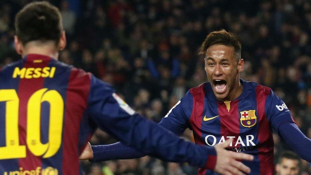 El regate de Ney: ganarse el respeto de Messi y compartir su liderazgo