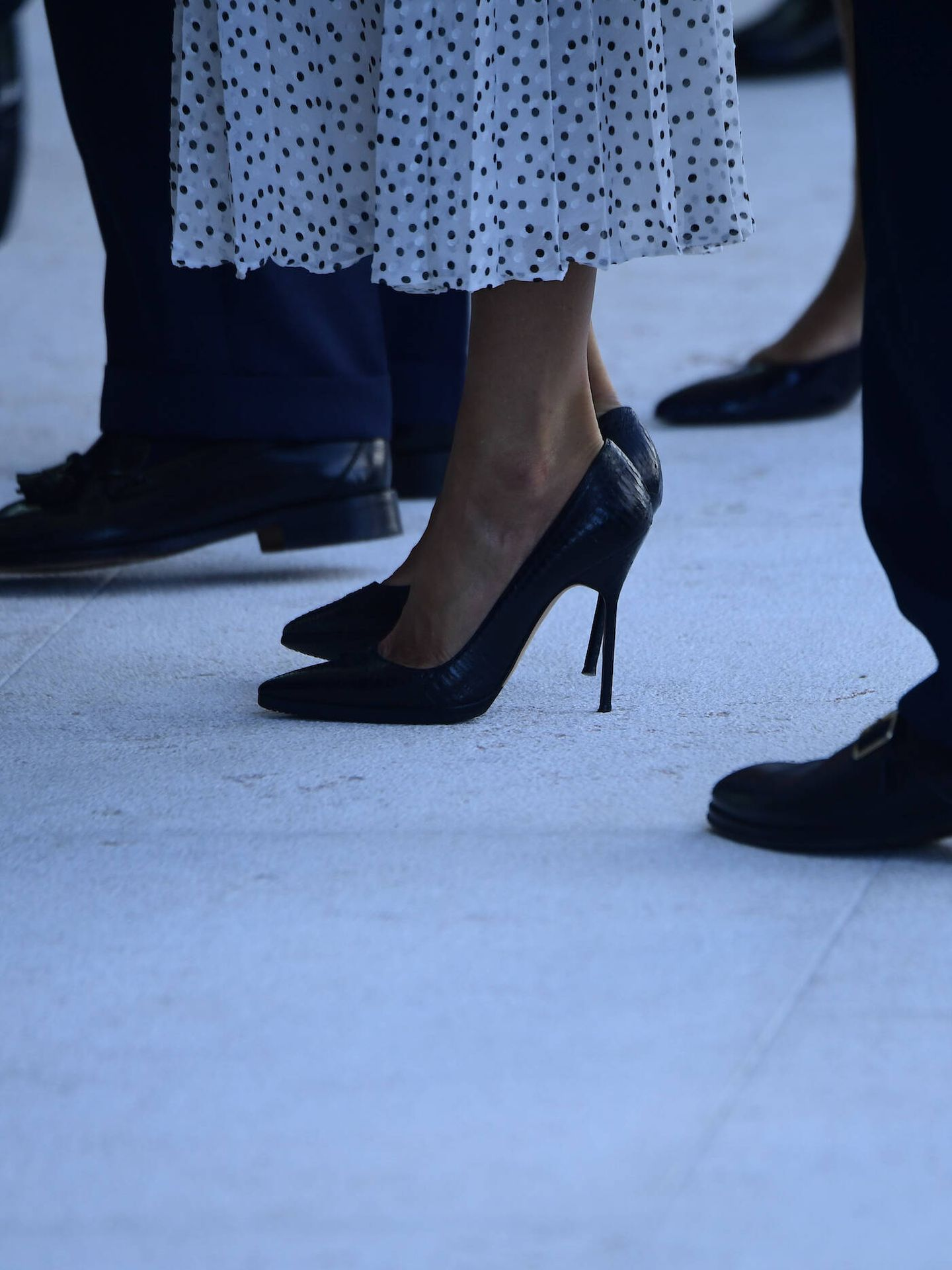 Los zapatos de la reina Letizia. (Limited Pictures)