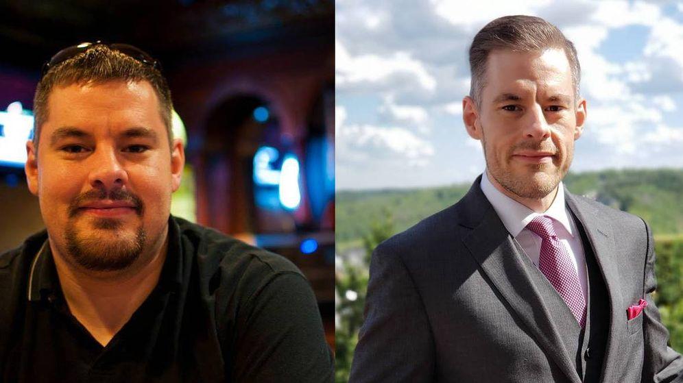 Foto: El antes y el después de Dan Kiever: 70 kilos marcan la diferencia entre una imagen y otra (Foto: Facebook)
