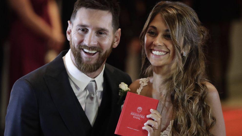 Leo Messi y Antonella Roccuzzo dan la bienvenida a Ciro, su tercer hijo
