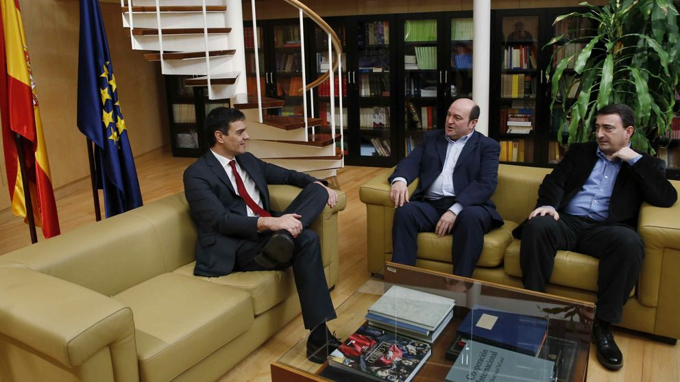 El PNV tiende la mano a Sánchez sin cheques en blanco y no veta socios