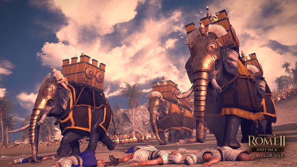 Descubren el legendario fuerte egipcio que entrenaba elefantes de guerra