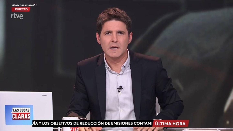 Jesús Cintora, presentador de 'Las cosas claras'. (TVE)