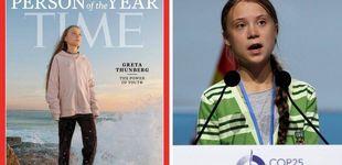 Post de Greta Thunberg, persona del año para la revista TIME:
