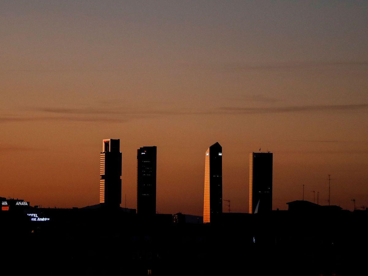 Foto: Skyline de Madrid (Reuters)