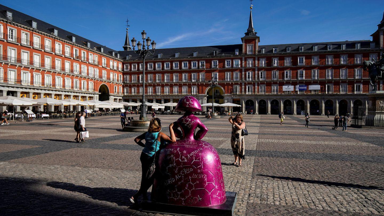 Imagen de la plaza Mayor de Madrid   REUTERS