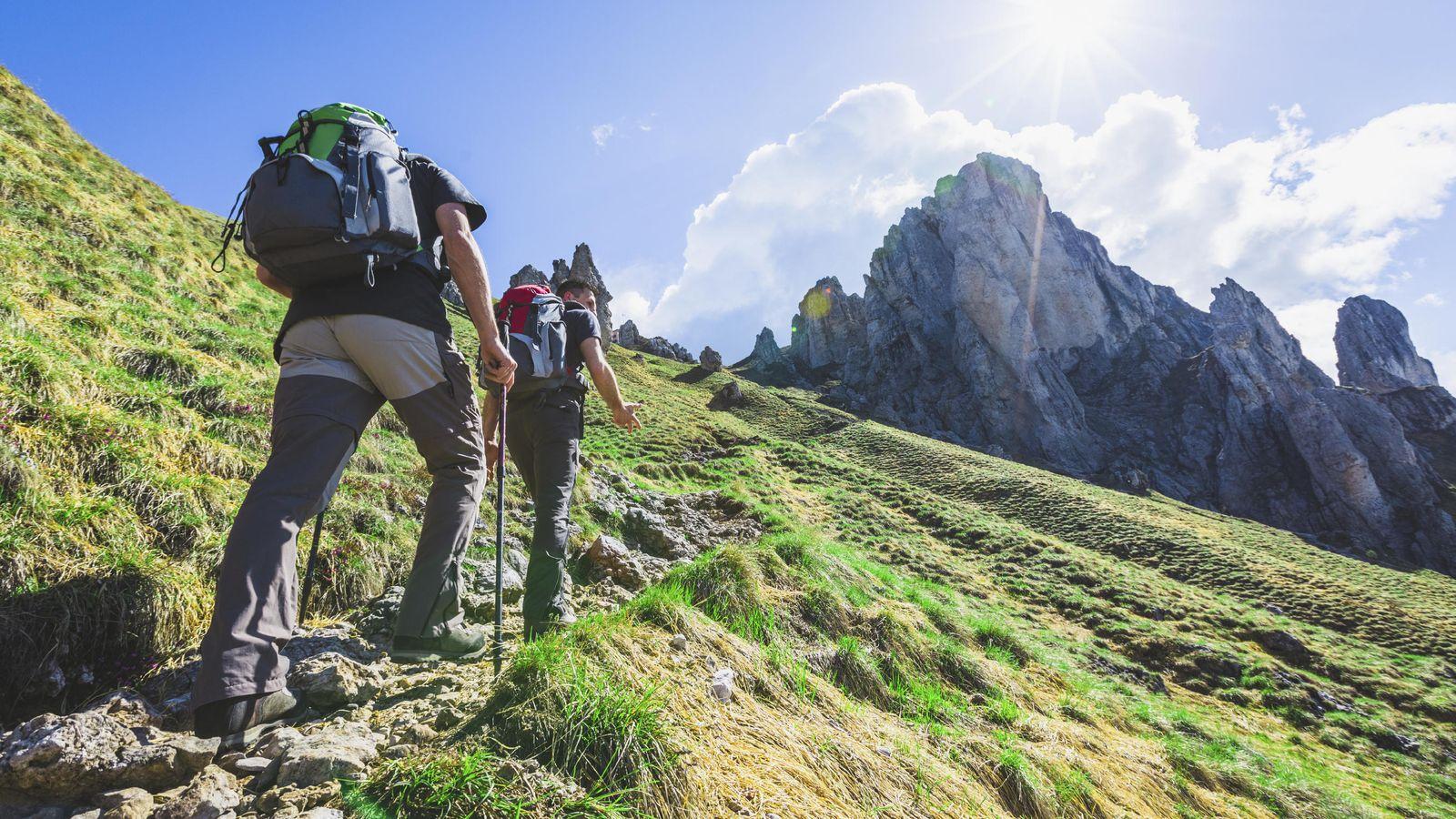 Foto: Una visita a la sierra constituye el ejercicio más completo. (iStock)