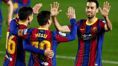 El Barça cabalga de nuevo a lomos 'SuperMessi' para golear al Getafe (5-2)