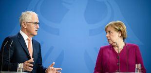 Post de Putin, Trump, Macron... qué esperar de la 'ofensiva internacional' de Merkel